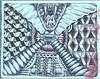 Jaws on Aqua (molossus, who says Life Imitates Doodles) Tags: zia fabriano tiziano zentangle zendoodle zentangleinspiredart