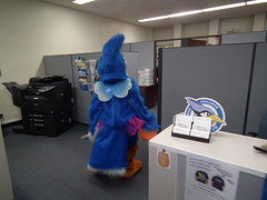 The Blue Jay Visits Offices for Halloween 2014 (Manor College Jenkintown, PA) Tags: college halloween pennsylvania bluejay manor tutu offices fairywings jenkintown manorcollege manorcollegebluejay collegeoffices