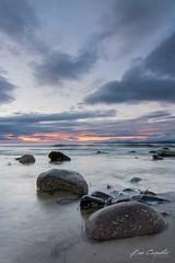 Donegal Sunset (ben carpenter photography) Tags: travel sunset sea seascape beach nikon rocks cloudy tokina d7100 tokinaaf1116mmf28