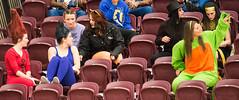 MacEwan Griffins Vs Brandon Bobcats (one42chrisp) Tags: canada halloween sport fan nikon edmonton alberta volleyball cis spectators gym spectator gmu d4 griffins macewan womensvolleyball one42chrisp nikond4 brandonbobcats macewangriffins afsnikkor300mmf28edvrii