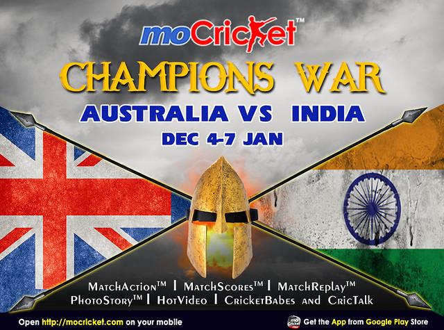 Australia vs India Series 2014-2015