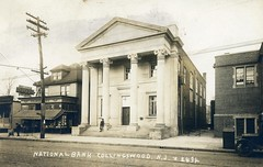 Drugstore & Bank (collingswoodlib) Tags: blackandwhite newjersey library postcard bank drugstore 1900s collingswood haddonavenue collingswoodpubliclibrary collingswoodnationalbank chamberlinsdrugs