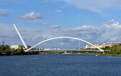 (elalex2009) Tags: bridge sky water clouds river sevilla spain guadalquivir sony seville guadalquivirriver nex7