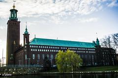 Stockholm City Hall (AJo58Photo) Tags: buildings sweden stockholm cityhall sverige stadshus byggnader nikond5200