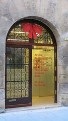 Merry Christmas- Frohe Weihnachten (Marlis1) Tags: door portal tor merrychristmas marlis1 tortosacataluñaespaña canong15 palaudespuigtortosa