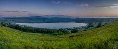 Crater lake (JorisDierickxx) Tags: park sunset lake meer elizabeth queen national crater afrika uganda krater nationaal oeganda