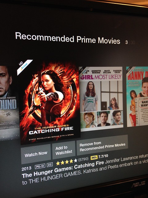 Amazon fireTV stick: Recommended Prime Movies
