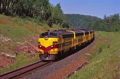 Cramer, Minnesota (UW1983) Tags: minnesota trains cramer railroads f9 funits eriemining