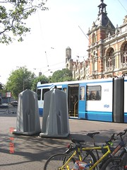 Only for Men (leonyaakov) Tags: street holland men amsterdam traffic thenetherlands toilet promenade tramway sunnyday citiscape capitalcity citytour писоар marculescueugendreamsoflightportal wsweekly100