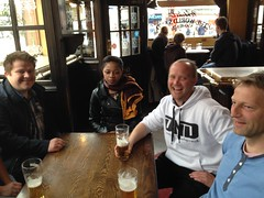 Beer and laughs in a pub in central Camden!