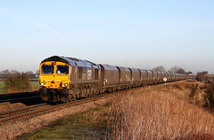 66727 6H30 bolton percy n.r. 04.01.2015 (Dan-Piercy) Tags: naturereserve coal drax class66 tynedock 6h30 gbrf boltonpercy 66727