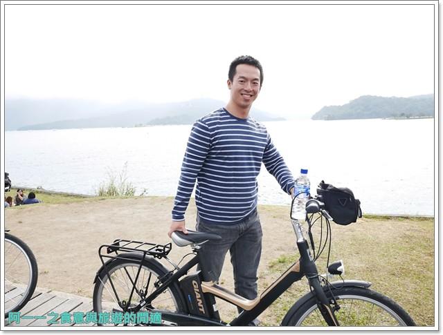 日月潭南投旅遊景點低碳鐵馬電動車電動船雲品下午茶image027