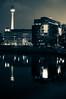 Palla2 (DajeMoo) Tags: christmas street berlin wheel night 35mm lens photography prime nikon ferris panoramica alexanderplatz normal nikkor f18 spree natale ruota jannowitzbruecke d40 fernseheturm sprea