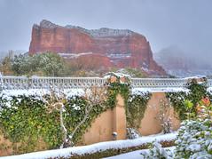 Sedona in the Snow (GMills31) Tags: snow sedona redrocks hdr canyonvillabb afrizona
