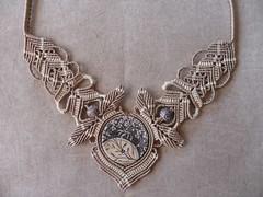 girocollo Mucha (patty macramè) Tags: collier bijoux macrame collane accessori bigiotteria macramè jevels margaretenspitze macramègioielli