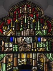 Detail of the David Ross Stained Glass Memorial Window featuring the Marys and the Angel of the Lord at Jesus' Tomb; St Kilda Presbyterian Church - Corner Barkley Street and Alma Road, St Kilda (raaen99) Tags: building window glass saint architecture angel religious 1930s memorial mary religion gothic wing victorian feathers australia melbourne stainedglass victoria victoriana bible virginmary 20thcentury 1886 stainedglasswindow stkilda biblical presbyterian 30s marymagdalene resurrection nineteenthcentury gothicarchitecture placeofworship 1880s gothicchurch davidross gospels gothicbuilding presbyterianchurch gothicstyle twentiethcentury almaroad ralphwilson melbournearchitecture theresurrection gothicrevivalarchitecture angelofthelord religiousbuilding gothicrevivalstyle navewindow bookofmatthew almard barkleyst malesaint gothicrevivalbuilding inmemorandum barkleystreet stkildachurch 20thcenturystainedglass architecturallydesigned gothicrevivalchurch boomperiod stkildapresbyterianchurch johnbeswicke gothicdetail memorialstainedglass twentiethcenturystainedglass mathiesongibson mathiesonandgibson davidrossmemorialwindow davidrossmemorialstainedglasswindow wilsonandbeswicke presbyterianchurchofstkilda wilsonbeswicke