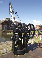 National Waterways Museum, Ellesmere Port, (Snapshooter46) Tags: dock canals shropshireunioncanal thomastelford handcrane ellesmereport inlandwaterways civilengineers williamjessop nationalwaterwaysmuseum