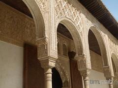 Alhambra (TIMRAAB227) Tags: espaa castle andaluca spain palace andalucia unescoworldheritagesite alhambra granada andalusien palast spanien kasbah patrimoniodelahumanidad nasriddynasty patiodelosarrayanes alandaluz courtofthemyrtles unescoweltkulturerbe myrtenhof emirateofgranada sabikah
