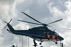 helicopter crew change (bowsawblogger) Tags: helicopter romania blacksea symphony cgg crewchange