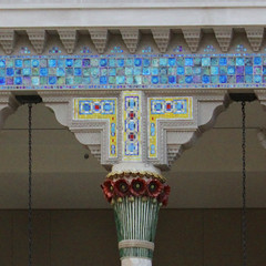 Column Detail (lefeber) Tags: nyc newyorkcity newyork architecture interior tiles column artmuseum atrium themet colonnade metropolitanmuseumofart tilework