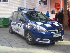 Policía Municipal de Madrid. (061zgz) Tags: españa car spain cops 911 police aviso law enforcement emergency 112 092 lawenforcement policia policeman unit policía urgencias urgencia policiamunicipal policialocal emergencias policiamunicipalmadrid