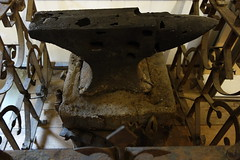 Poorly Cast Anvil (Heath & the B.L.T. boys) Tags: metal gate ironwork anvil