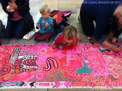 Go Go Dragons 2015 (UrbanCanvas) Tags: pictures street uk family summer urban streetart art public festival shopping painting children chalk big artist dragon floor artistic pavement centre norfolk arts picture sidewalk event artists pastels norwich activity chalking activities chalks chapelfield 2015 intu urbancanvas screever screeving
