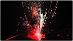 Feu d'artifice du DFCO lors du dernier match de L2 (asterfred71) Tags: foot wideangle tokina uga lumires artifice feux feudartifice grandangle ligue2 d7100 1120mm dfco nikond7100