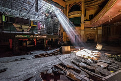 Gods Rays shining into dereliction.... (salmonmark10) Tags: