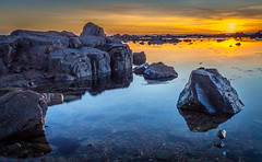 IMG_1194.jpg (Tim_Horsfall) Tags: ocean uk sunset sea sky seascape water clouds canon eos coast is seaside rocks colours dusk jersey usm 6d f4l ef1635mm