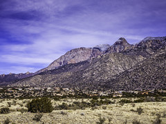 Sandia Mountains C4 Full (Mabry Campbell) Tags: usa mountain newmexico nature landscape photography countryside photo photographer image unitedstatesofamerica fineart bluesky hasselblad photograph 100 f80 february sandia fineartphotography sandiamountains 80mm 2016 colorimage commercialphotography bernalillocounty hc80 sec mabrycampbell h5d50c february42016 20160204campbellb0000422