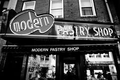 This Modern Pastry Shop (Thomas Hawk) Tags: bw usa boston neon unitedstates massachusetts unitedstatesofamerica newengland northend beantown fav10 modernpastryshop