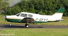 F-GFYT PA2 8 Fife June 2016 (pmccann54) Tags: glenrothes piperpa28 fiferegionalairport fgfyt