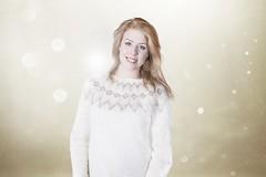 Stylish ESC icelandic knitwear (Mytwist) Tags: sexy wool girl fashion modern sweater handmade craft style blonde jumper esc icelandic lopi laine crewneck vouge knitwear peysa stefana svavarsdttir