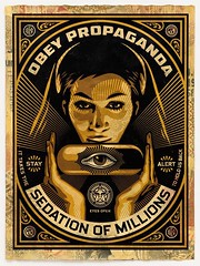""" Sedation Pill "" 2013 by Shepherd Fairey / Pop Art (lalek72.popart) Tags: art popart shepardfairey obeypropaganda popartposter popartculture sedationpill"