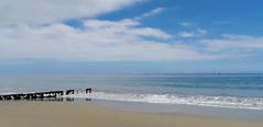 Santa Barbara Beach (Bug In Box) Tags: ocean santa sea sun beach clouds sand surf day pacific barbara
