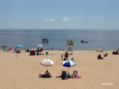 Craigville Beach Afternoon 3 (mblakephoto) Tags: ocean summer people beach water fun outdoors sand chairs capecod massachusetts umbrellas cba iphone craigvillebeach craigvillebeachassociation
