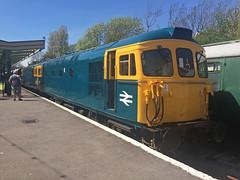 33111 + 33201 Swanage (daveymills31294) Tags: diesel 33 railway class gala swanage 2016 332 331 33111 33201