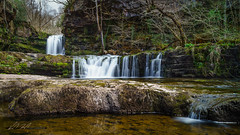 Smooth... (Karol P Drozd) Tags: nature water forest reflections waterfall rocks natural ngc rocky