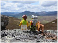 What is this life...? (Macsen Wledig) Tags: summer mountains walking scotland highlands lego may leisure minifigs cairngorms kingussie cairngormsnationalpark monadhliath williamhenrydavies legodan legodot legosuzie creagbeag