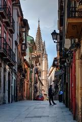 Hacia la Catedral. Oviedo (ccc.39) Tags: street urban calle torre catedral ciudad asturias urbano oviedo callemon