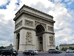 Arc de Triomphe (JeanLemieux91) Tags: paris france primavera june clouds de juin spring îledefrance arc triomphe nubes nuages junio printemps pavé 2016
