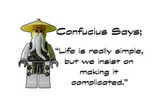 Life is really quite simple.... (tim constable) Tags: life old beard friend friendship lego wizard religion chinese philosophy sage teacher master silence wise knowledge confucius motivation mindfulness minifig wisdom inspirational simple unlock inspire potential noble wiseman motivate disciple complicated minifigure teachings philosophical knowledgeable timconstable