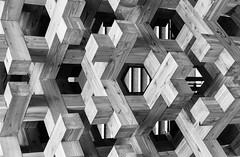 Hexagon (albi_tai) Tags: bw white black blackwhite nikon expo milano bn d750 hexagon bianco nero giappone bianconero biancoenero legno geometria esagono padiglionegiapponese expo2015 albitai neltunneldelbn nikond750