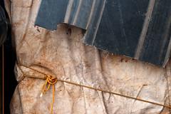ten harbour details: 3 (Bob_Last_2013) Tags: abstract texture harbour fabric knots
