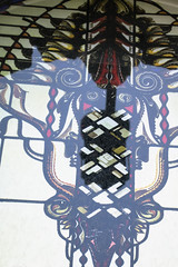 Nice try of the disguise (DjaronvanBeek) Tags: wild abstract building window strange lines amsterdam monster composition creativity design weird colorful angle artistic antique framed unique patterns curves 19thcentury decoration perspective dream surreal crosses stainedglass architectural textures part illusion forms hallucination layers nightmare colourful creature oblique eclectic stylized divided imaginative repetitions phantasm neobaroque elaborate alienface pieceofart myimagination myinterpretation djaron shadowofatrafficlight lhrer almoststraightfromcamera dirtonwindow victoriahotelamsterdam darkertones mutedshades djaronvanbeek lookslikesemitransparent madein1890 influencedbyartdeco madeinglassatelierelhrer armsofamsterdamconsistsofthreecrosses architectjfhenkenhaf hintofsymmetry notprocessedthatmuch horrorinsect playingwithlinescolorsandforms reflectionofbluesky