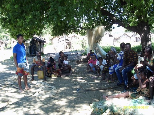 The community consultation in Anjiamaloto