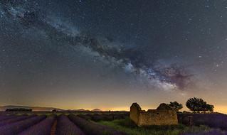 Vía Láctea en la Provenza...