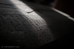 Sarcophagus Lid in Sunlight (Justy.C) Tags: england london unitedkingdom gb sarcophagus britishmuseum dynamiclighting