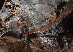 OFD2-Moonlight-Chamber-Area-180616-8 (dudley bug) Tags: southwales cave caving cavern straws stalactites stalagmites formations spelunking ogof caver ogofffynnonddu topentrance ofd2 moonlightchamberarea